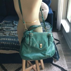 Marc by Marc Jacobs Green Ostrich Purse